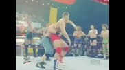 Randy Orton & John Cena vs Raw Roster 03.17.08