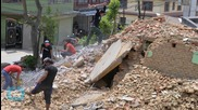 Homeless Nepalis Sleep in the Open as Monsoon Rains Approach