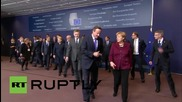 Belgium: EU leaders pose for group photo after migration summit