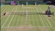 Смешна случка с Федерер :)