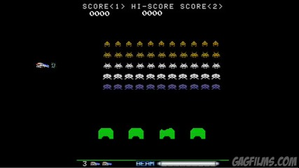 R - Type vs. Space Invaders