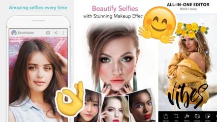 Топ 5 на най-добрите app-ове за селфита