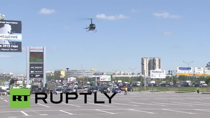 Russia: See the helicopters swoop in for HeliRussia 2015