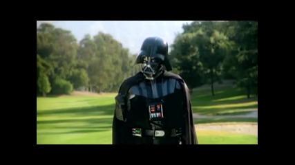 Дарт Вейдър играе голф