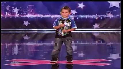 Това дете ще ви изуми!!! Америка търси талант!!!