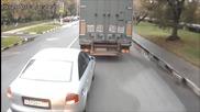 Русия: Компилация автомобилни катастрофи Част 2