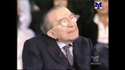 Италиански Сенатор Оглушава В Тв Предаване
