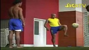 Brazilian Football Team Freestyle