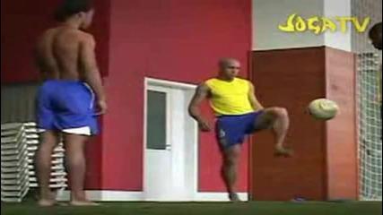 Brazilian Football Team Freestyle