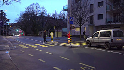 Geneva unveils 'feminised' road signs to push for gender equality