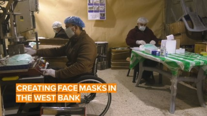 How the West Bank took a mask shortage into their own hands