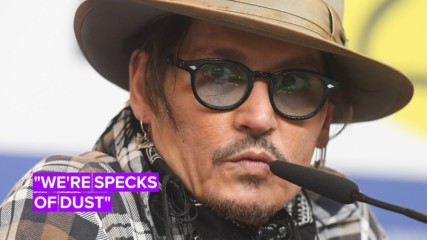 Johnny Depp gives a lesson philosophy