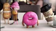 Антонио Бандерас В Реклама На Дъвки Орбит