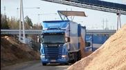 Scania R560 V8 & Volvo L220f
