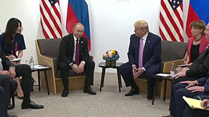 Япония: Тръмп и Путин се срещат на Г-20