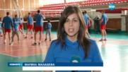 Волейболистите на ЦСКА облякоха сини тениски