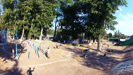 Тренировка (оldng)киев, парк.
