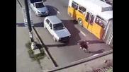 Скок от моста на Ндк върху рейс!(версия 2)