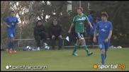 Левски - Белхатов 1 - 0 (разширен репортаж)