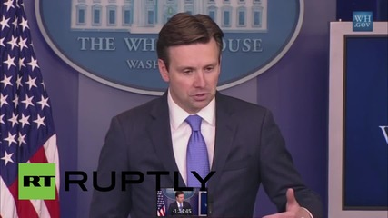 USA: White House quips about press room bomb threat