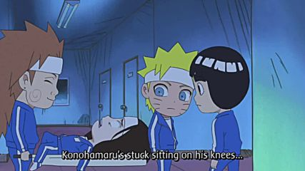 Naruto Sd: Rock Lee no Seishun Full-power Ninden Episode 11 Eng sub