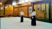 Kevin Choate Sensei_ Paired Bokken Exercise 1