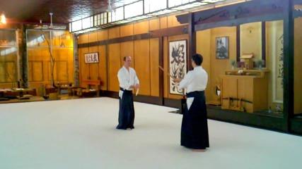 Kevin Choate Sensei_ Paired Bokken Exercise 1