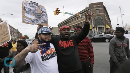 Baltimore Erupts in Joy After Cops Charged in Freddie Gray Death