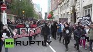 Първомайски сблъсъци в Лондон