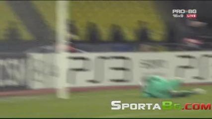 Цска Москва 0 - 1 Интер 1/4 - финал реванш Шампионска Лига общ резултат 0:2 (06.04.2010.)