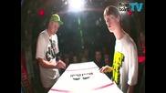 fingerboardtv - Battle At The Harrics - Mike Schneider vs. Daniele Comuzzi