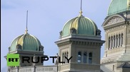 Switzerland: Man threatens self-immolation outside parliament