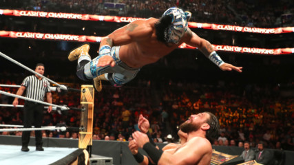 Lince Dorado takes to the air against Drew Gulak and Humberto Carrillo: Clash of Champions 2019 (WWE Network Exclusive)