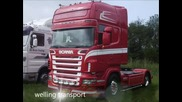 welling transport scania - звук