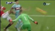 Манчестър Юнайтед - Уест Хем 0:0 /първо полувреме/