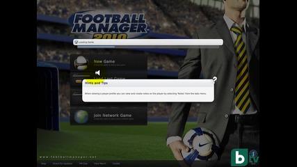 Как да си направим класическо меню на Football Manager 2010 *hd* *hq*