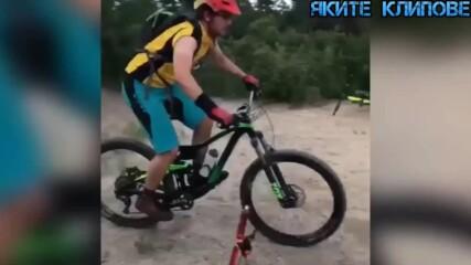 Как не трябва да се кара колело! - Вело гафове