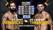 Johny Hendricks vs Stephen Thompson (ufc Fight Night 82, 06.02.2016)