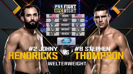 Johny Hendricks vs Stephen Thompson (ufc Fight Night 82, 06.02.2016)