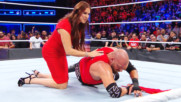 Stephanie McMahon tends to Triple H after a beatdown by Braun Strowman: WWE.com Exclusive, Nov. 19, 2017