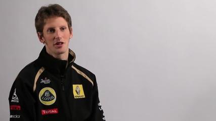Ромен Грожан Официлано е Вторият Пилот На Лотус за 2012 г В Формула1 H D