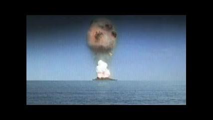Ефектно изригване на вулкан