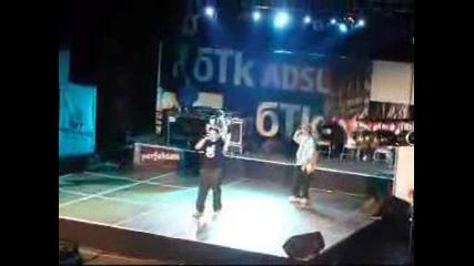 Starterass Feat. Killa K - Оптимизмът Твори(на Живо Battle Of The Year 2006)avi