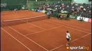 Tennis Zagorka Cup-sofia-ivo Minar-aleksandur Sidorenko-az(ljubtube),tanjo i Vankata sme v Publikata
