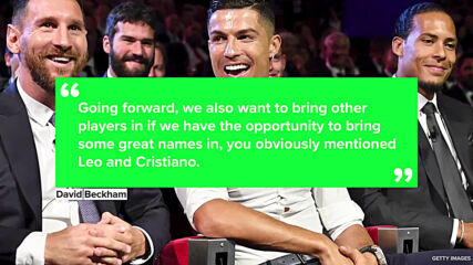 Could David Beckham get Ronaldo and Messi to play together for Inter Miami?