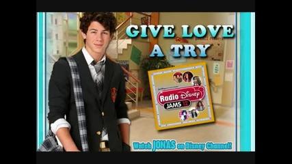 Nick Jonas - Give Love a Try