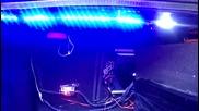 Lighting blue efect