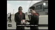 """""""Адидас"""" показа топката за финала в Шампионската лига"""