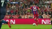 Байерн Мюнхен 6 - 1 Порто ( шампионска лига ) ( 21/04/2015 )