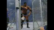 Undertaker Vs Batista Steel Cage Match Part 1